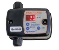 Presostato electrónico con manómetro digital integrado