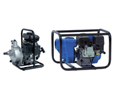 SAER SELF-PRIMING MOTOR PUMPS WITH 4-STROKE PETROL ENGINE